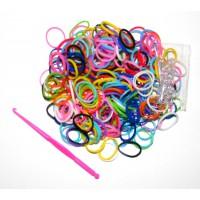 Резинки для плетения браслетов ББ 5-1 (1уп. 300 шт.)